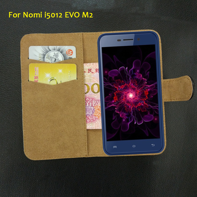 6 Colors Super!! Nomi i5012 EVO M2 Case Flip Leather Luxury Exclusive Protective 100% Special Phone Cover+Tracking