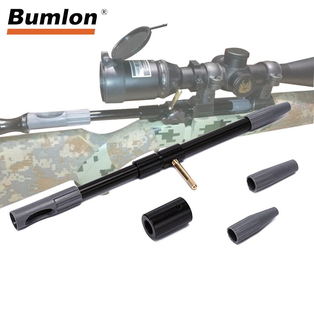 Guia Furo Universal Pistola de Limpeza Escova Acessórios para AR Rifle Caça Exército HT37-0100