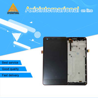 Axisinternational LCD Screen Display Touch Panel Digitizer With Frame For Xiaomi Redmi 2 Hongmi 2 Free