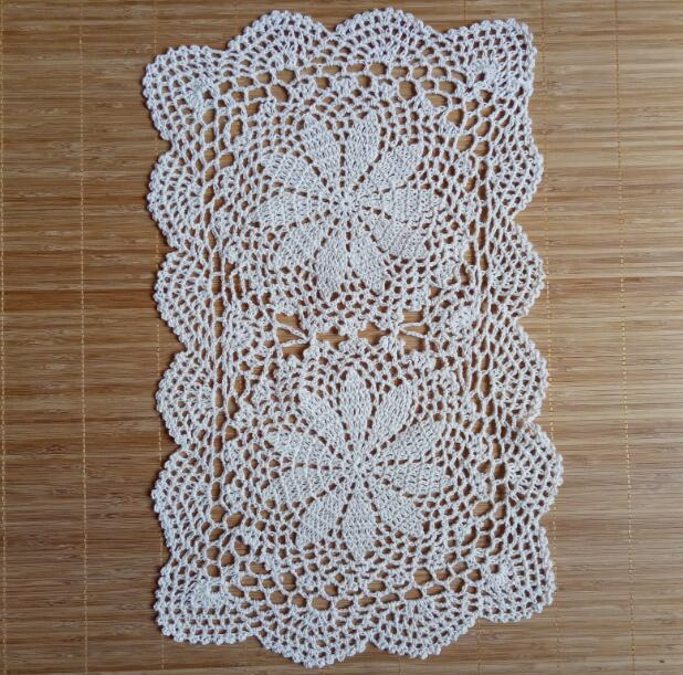 Modern cotton placemat cup coaster mug kitchen Christmas dining table place mat cloth lace Crochet tea coffee doily drink pad in Mats Pads from Home Garden