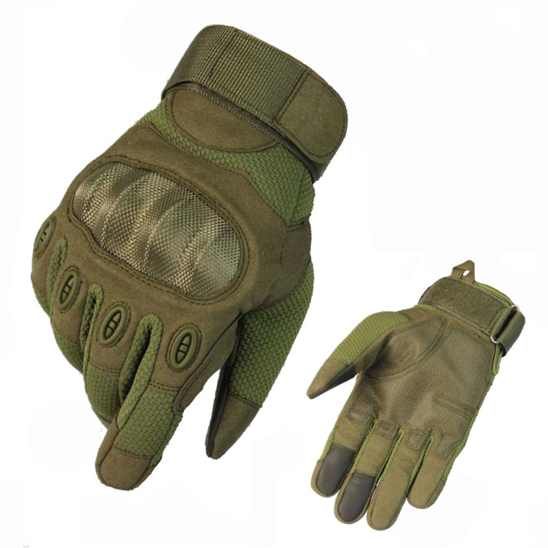 Men/'s Outdoor Tactical Gloves Full Finger Hiking Riding Cycling Military