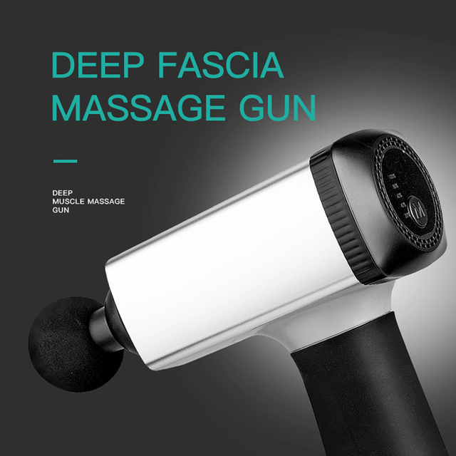 US $88 0 |deep muscle relaxation massage gun relieve fatigue physical  therapy Electric After exercise Prevent cramps Fitness apparatus-in Massage  &