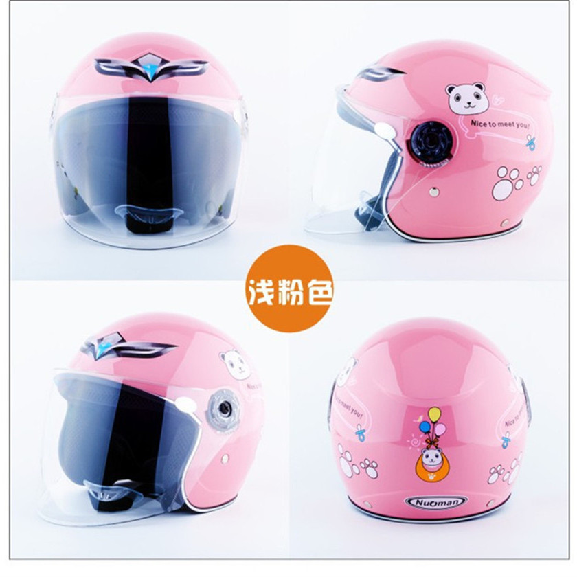 2017 New Cute <font><b>Kids</b></font> Comfortable Safety Motorcycle <font><b>Helmet</b></font> Capacete Motocross <font><b>Motos</b></font> <font><b>Helmets</b></font> Children bicycle <font><b>helmet</b></font> image