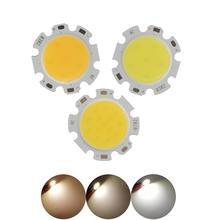 ALLCOB factory 28mm 20mm round LED COB Light Source Module warm nature white 3W 5W 7W 10W 12W lamp flip chips for spotlight стоимость