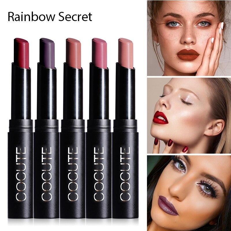 FOCALLURE 24 Cores de Batom Hidratante Batom À Prova D' Água de Longa-duração fácil de Usar Cosméticos Lábios Maquiagem Nude
