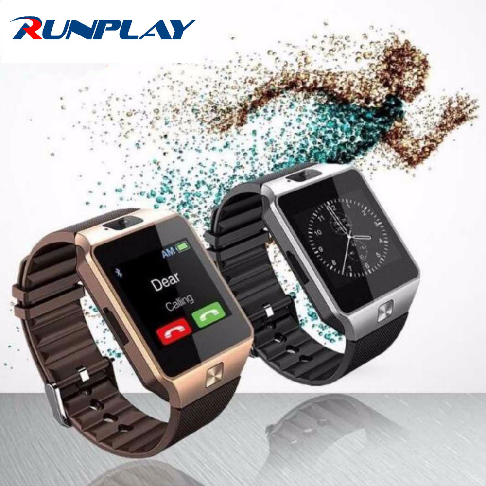 nuevo smart watch dz09 con cámara tarjeta sim reloj de pulsera bluetooth smartw