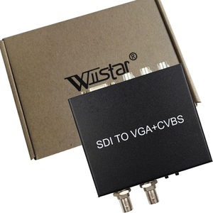 Image 5 - SDI (SD SDI/HD SDI/3G SDI) to VGA+CVBS/AV+SDI Converter Support 1080P for Monitor/Camera/Display Free Shipping