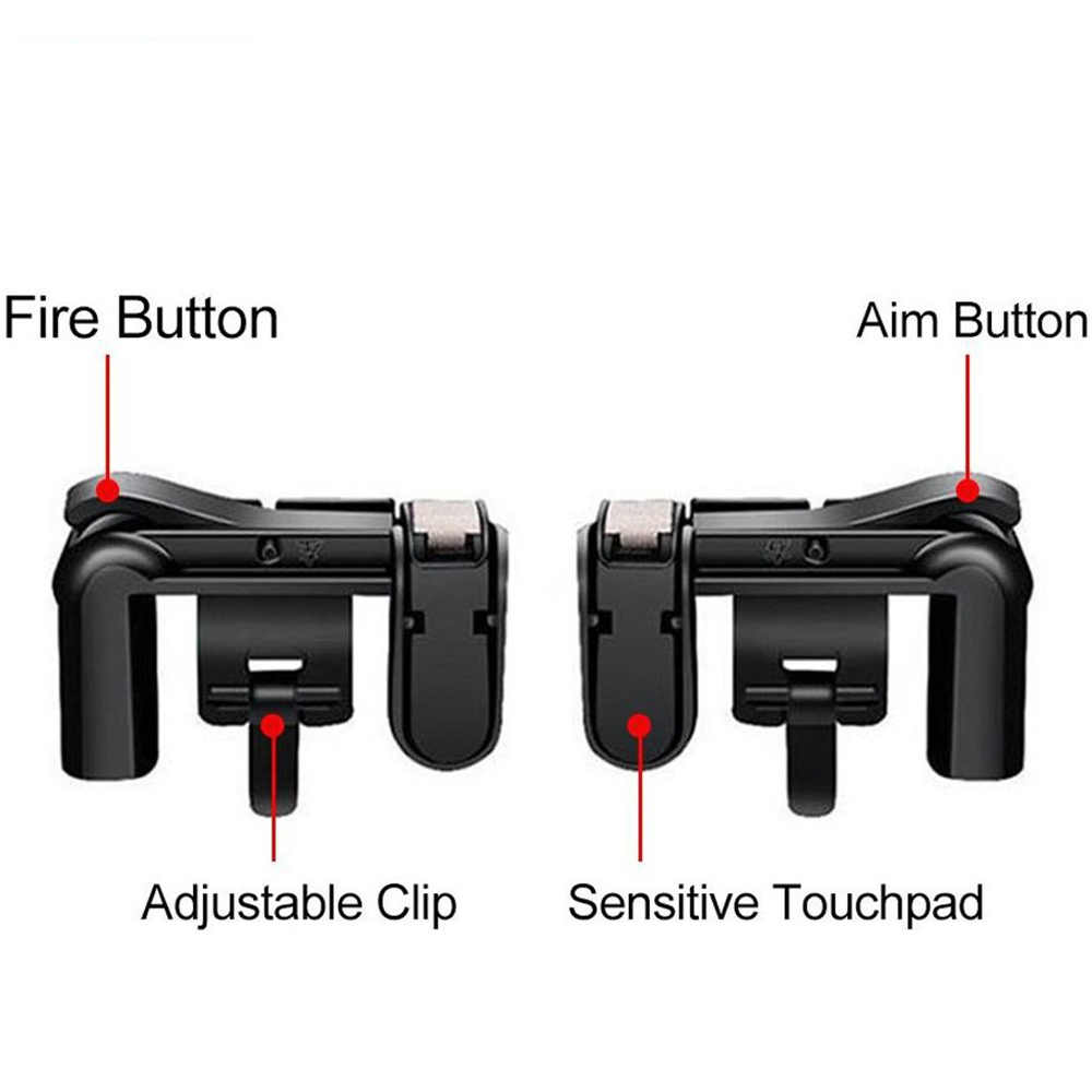 Yoteen Mobile Phone Shooting Game Fire Button Aim Key Buttons L1 R1 ...