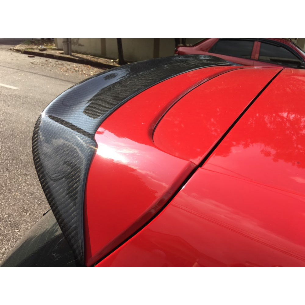 Carbon Fiber Rear Roof Spoiler Wing Lip Fit for VW Golf 6 MK6 VI GTI and R 2010-2013 RZ Style Not standard 2007 bmw x5 spoiler