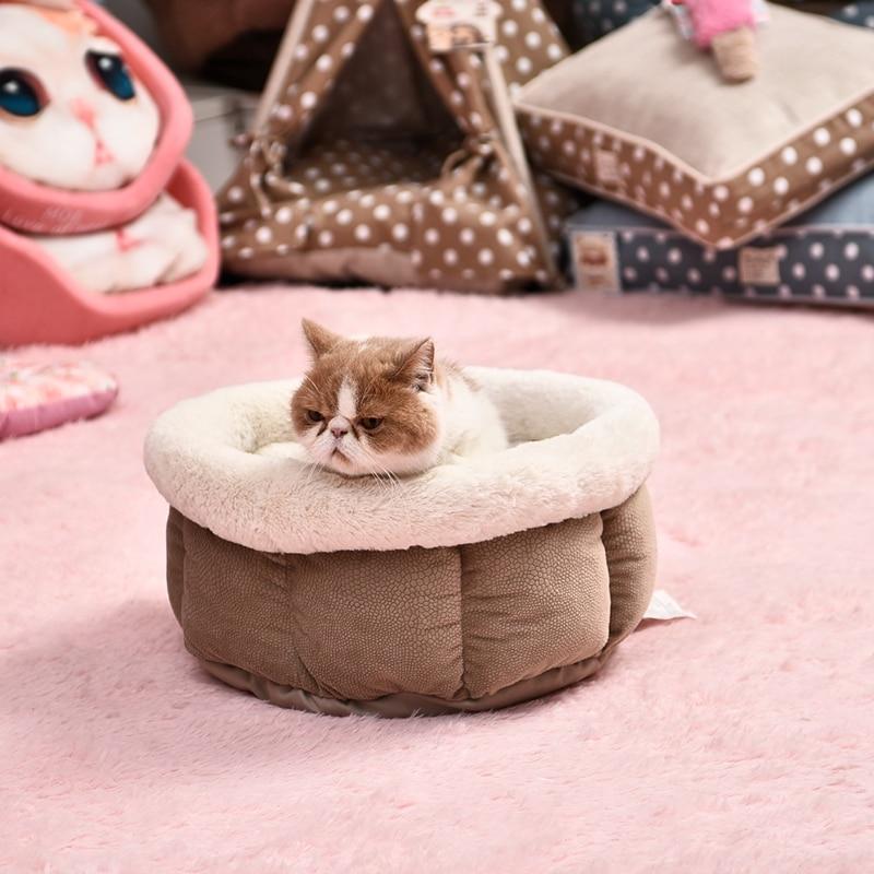 Soft Plush Design Pet Bed 15 » Pets Impress