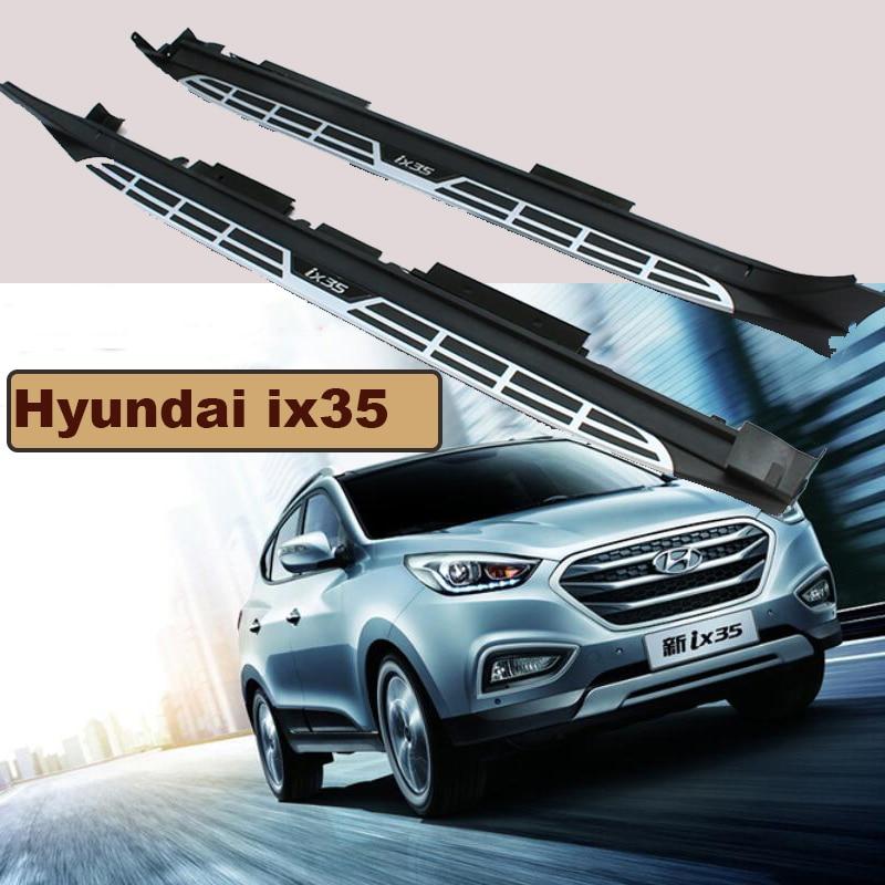 Pour Hyundai ix35 2010-2017 marchepieds Auto côté marchepied pédales haute qualité tout nouveau Design Original Nerf Bars