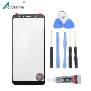 Replacement kit For Samsung Galaxy A6 A7 A8 A9 2018 Plus A9s LCD Panel Touch Screen Outer Glass Lens Repair Tools+9ml B7000