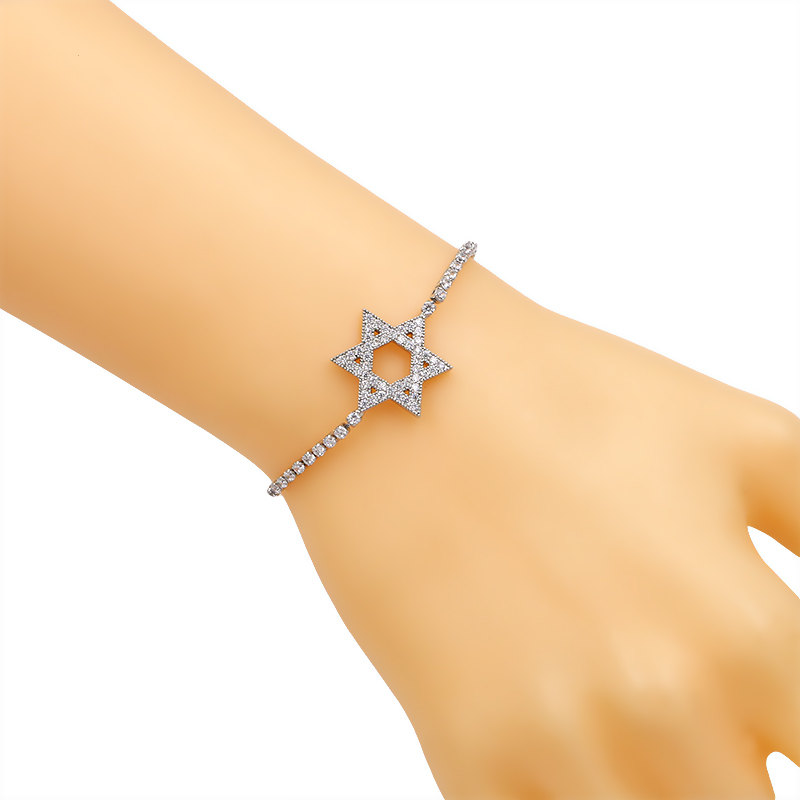 bracelet pour Mariage de Charme Étoile  de  David  5