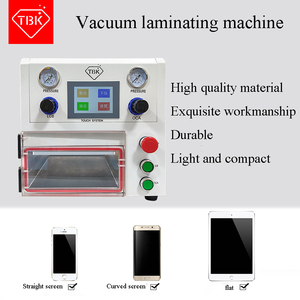 2019 New arrive 3 IN 1 TBK-108P OCA Lamination Machine Vacuum Laminating Machine for curved screen and straight screen and Pad(China)