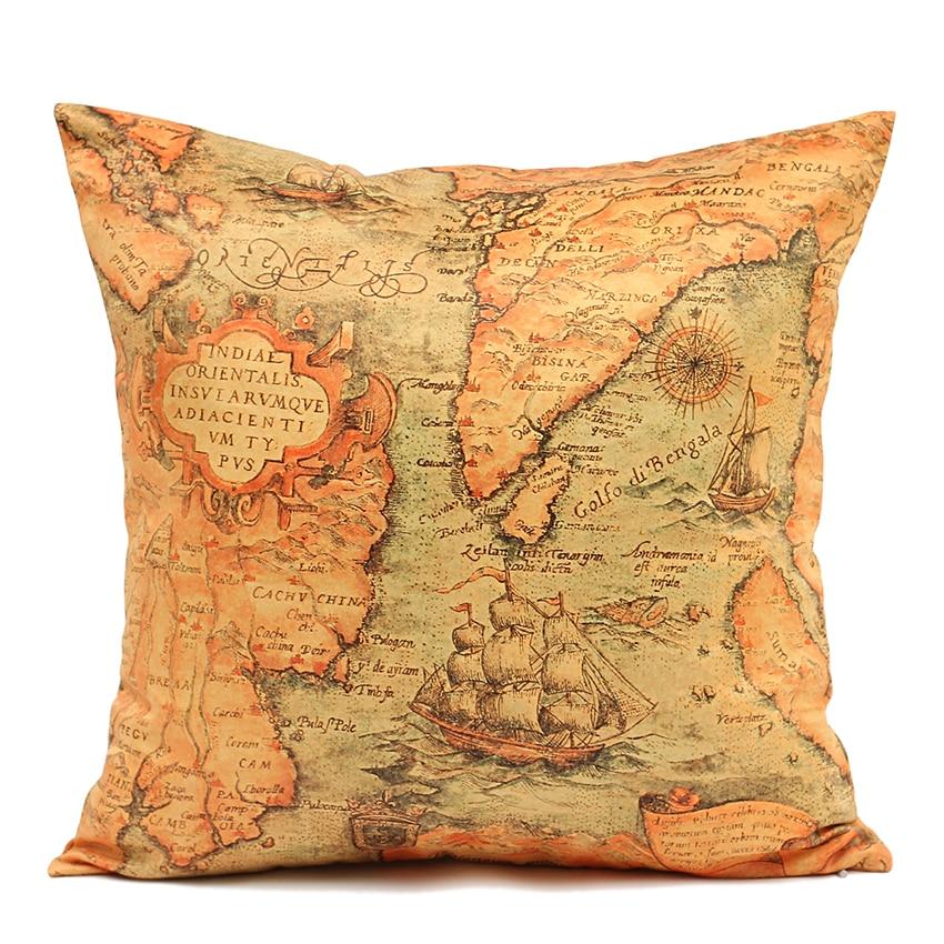 High quality 40cm 45cm 50cm 60cm sofa cushion cover map for Sofa 50 cm sitzhohe