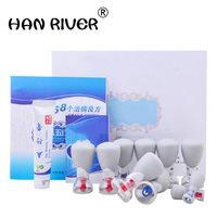 Five lines of injection needles household cupping device containing ten pens cream acupuncture magnetic therapy silver gift boxe