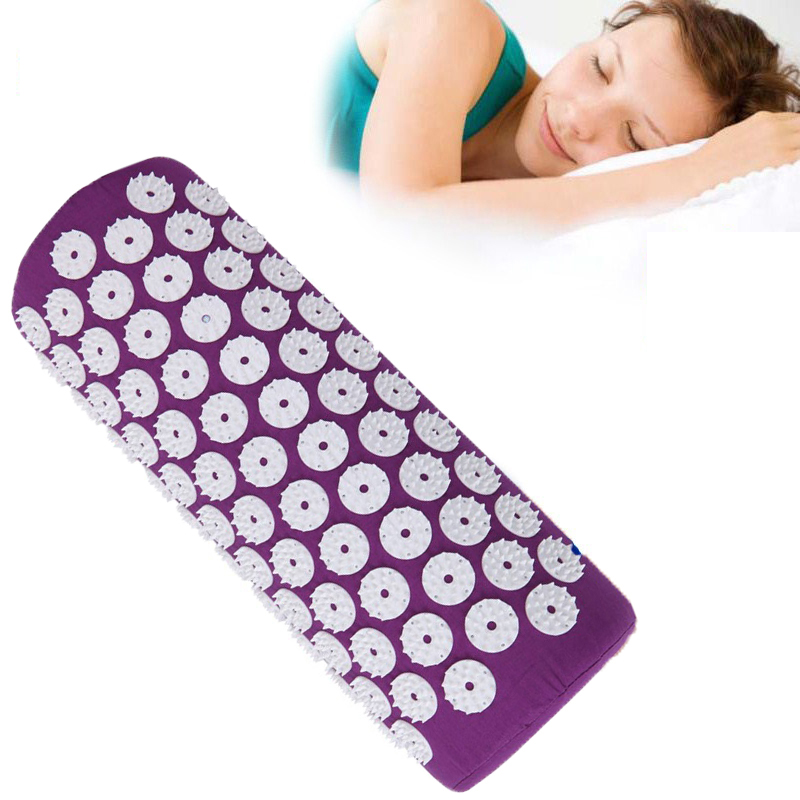 Healthy Head Massage Headache-relieve Pillow Massager Yoga Bed Pain Relieve Acupressure of Nails Acupressure Pillow for Head healthy learning