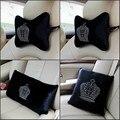 2016 short plush automotive crown car four seasons general waist lumbar cushion and cover car neck pillow
