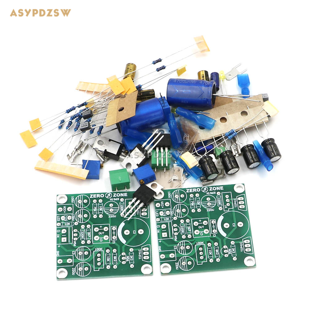 classic version tip41c jlh1969 single ended class a power amplifier diy kit 2 channel in. Black Bedroom Furniture Sets. Home Design Ideas