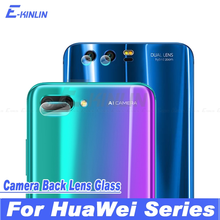 Back Camera Lens Protective Transparent Tempered Glass Protector Film For Huawei P Smart Honor View 10 9 7A 7C 7S 7X Mate 10 Pro