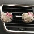 Car Styling Decoração Requintada Tk Gato Carro Perfume Sólido Purificadores de Ar Do Carro Ar Condicionado Tomada Perfume Sólido 100 Original