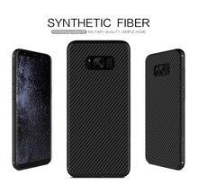 Nillkin синтетического волокна case для samsung galaxy s8 case углеродного волокна pp пластика задняя крышка case для samsung s8 case роскошный 5.8»