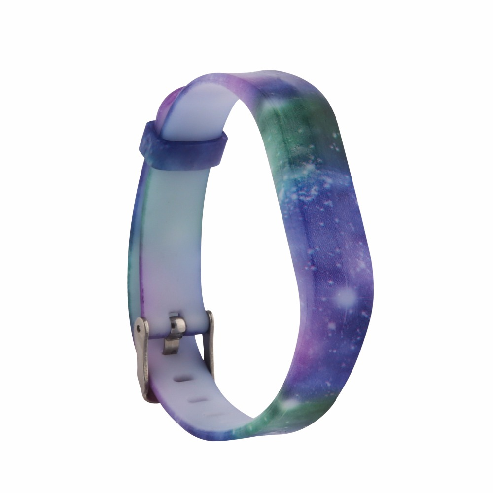 (FBFLEXGJHS2) SK-36 Bands for Fitbit Flex 2, Classic Silicone Fitness Replacemen