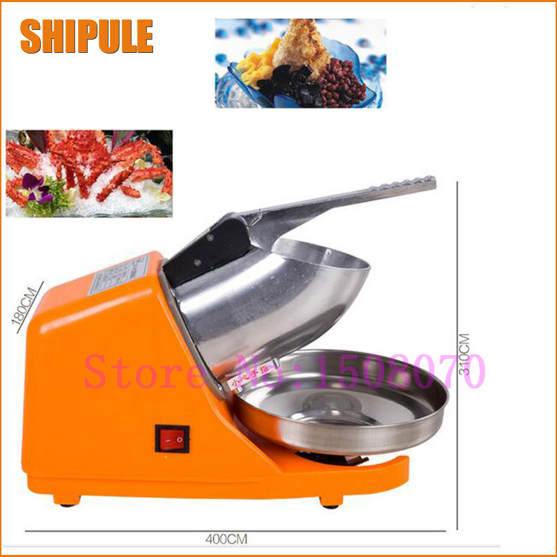 Hot SHIPULE Innovative Products 2017 Commercial Ice Shaver High Efficiency Snow Cone Maker Ice Crusher Machine edtid electric commercial cube ice crusher shaver machine for commercial shop ice crusher shaver