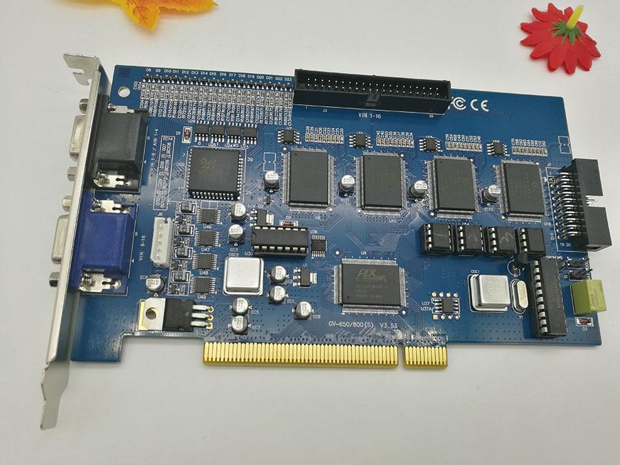 ФОТО 16 Chs GV Card GV800 V8.4 16 cs video cctv PC system  DVR card & 4 chs audio120fps(NTSC)100fps(PAL) security  video capture card