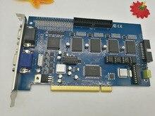 16 Chs V800 V8.4 16 cs video cctv PC system DVR card & 4 chs audio120fps(NTSC)100fps(PAL) security video capture card