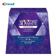 Origina Crest Whitestrips 3D White LUXE Professional Effects Dental Oral Hygiene Teeth Whitening (1Box /40Strips 20 Pouches)