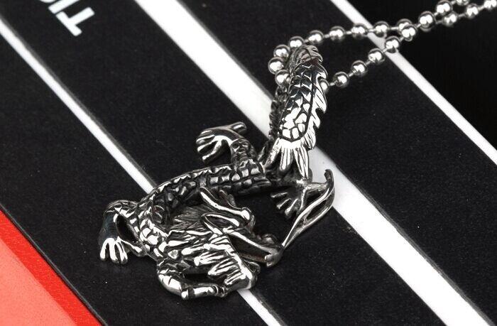 Viti i ri 2015! Pasardhësit e çelikut Titanium të dragoit suprem - Bizhuteri të modës