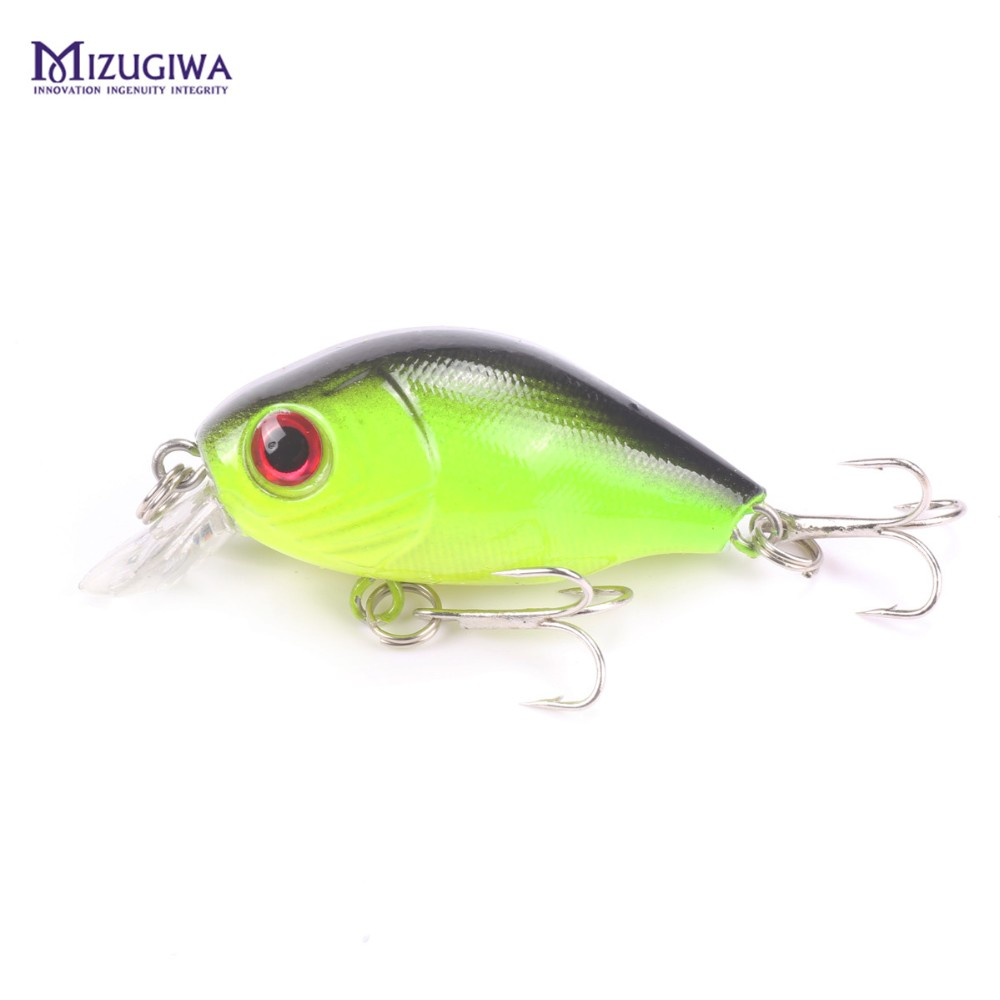 Fishing Lure Floating Crank Crankbait Plastic