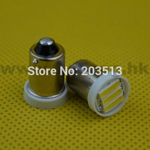 50pcs/lot factory price cheap G14 H6W ba9s led bulb 12v T4W 3 SMD 7014smd 3 leds car lighting lamp free shipping