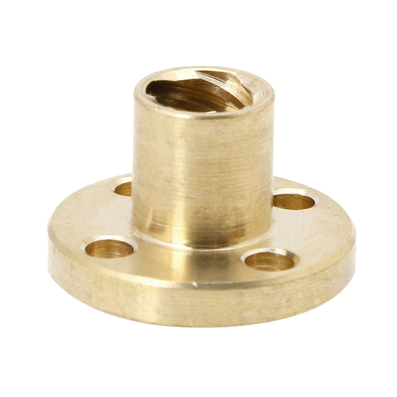8mm Type T Start Lead Screw Nut Brass For CNC 3D Printer Parts Printer Z Axis