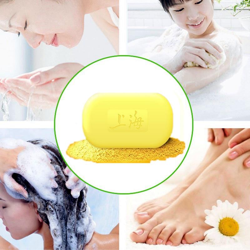 2019 Hotest Newest China Sulfur Soap Skin Conditions Acne treatment Seborrhea Mite antibiotic 85g