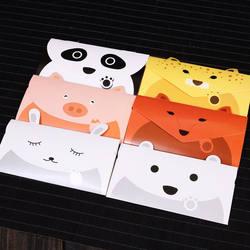 20 шт./лот Творческий мультфильм маленький конверт милые дети конверт праздничный день рождения Новый год на День Благодарения