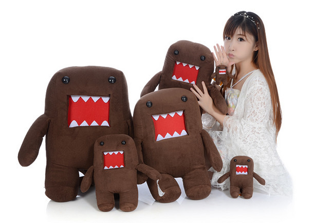 hot sale 40cm kawaii domokun peluche domokun, domo kun stuffed toys for children