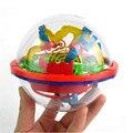 J627 novos chegada 100 níveis 3D labirinto de magia cubos crianças rolando bola quebra-cabeça jogo brinquedo educação infantil brinquedo