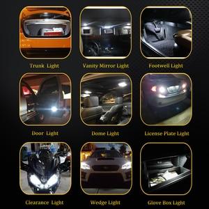 Image 5 - Deechooll 2 個 W5W LED 電球車アルファロメオ用の 159 、 canbus T10 6/27SMD クリアランスライトロミオ 159 2007 + インテリアランプ