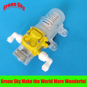 5L/Min 60W 12v dc water purifier automatic switch intelligent high pressure micro diaphragm water pump 60w dc 12v 0 8 145psi high pressure water pump micro electric diaphragm water pump automatic switch
