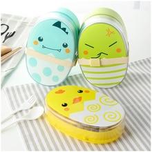 700ml Cartoon Healthy Lunch Box Cute Kids Microwave BPA Free