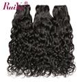 Brazilian Water Wave Human Hair Bundles RUIYU Hair Weave Bundles 1/3/4 Bundle Deals Natural Color Hair Non Remy Hair Extensions