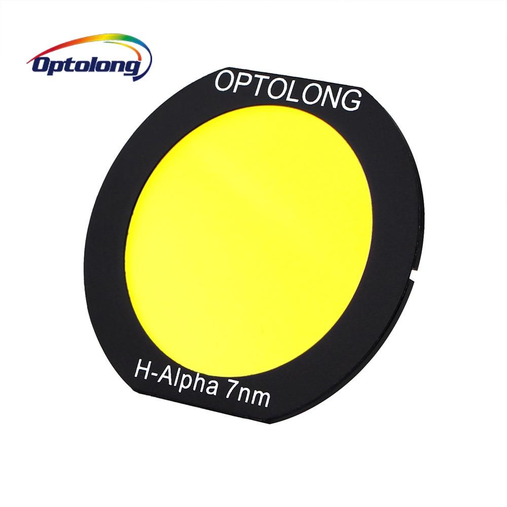 Filtro OPTOLONG H-Alpha 7nm Deepsky Clip-on Filtro per Telescopio Astronomico con EOS-C Telecamere Astrofotografia M0014