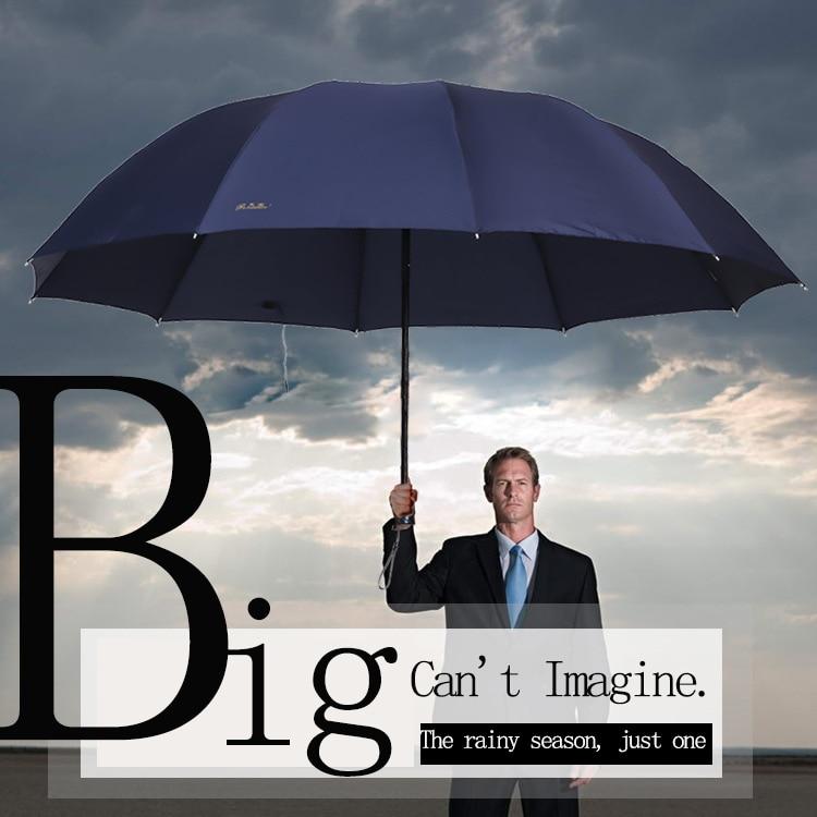 Huge Quality Umbrella For Women Men Windproof Large Folding Umbrella High Quality Women/'s Umbrella