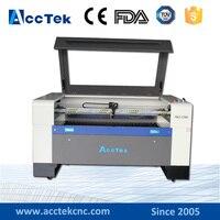 China high precision homemade plastic board cnc CO2 laser machine for cutting