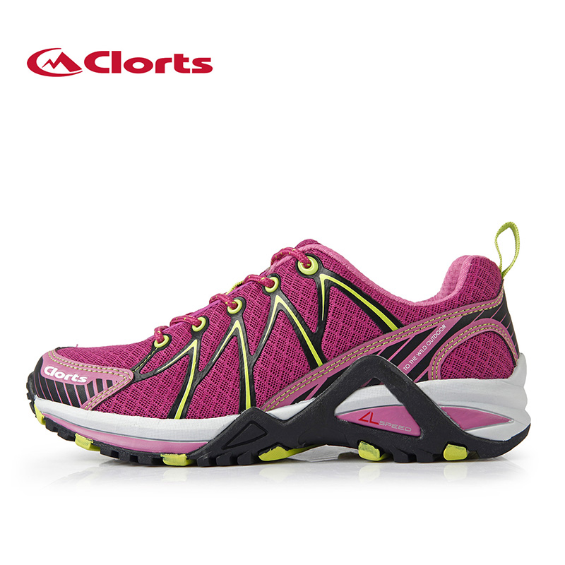 Clorts Women Running Shoes Ultra Breathable Athletic Shoes Light Sport Trail Shoes Female Outdoor Sneaker Shoes For Women 3F016C kelme 2016 new children sport running shoes football boots synthetic leather broken nail kids skid wearable shoes breathable 49