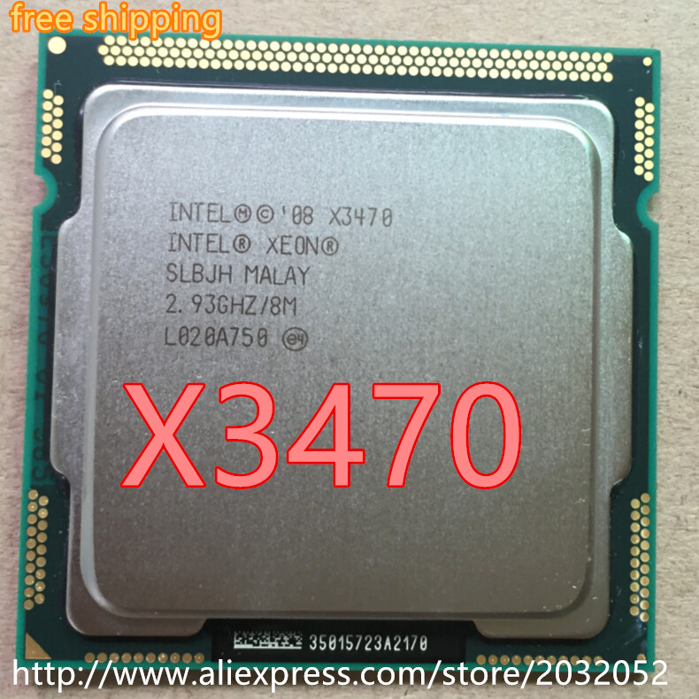 lntel X3470 Quad Core 2 93GHz LGA 1156 95W 8M Cache Desktop CPU equal i7 870 lntel X3470 Quad Core 2.93GHz LGA 1156 95W 8M Cache Desktop CPU equal i7 870 scrattered pieces (working 100% Free Shipping)