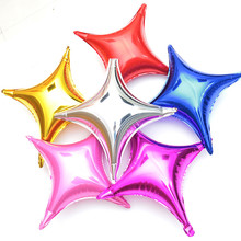 20inch blue metallic balloons star toys ballons helium foil birthday wedding decoration party supplies star shaped balloons
