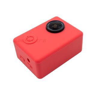Image 5 - Clownfish Soft Silicone Camera Protective Case Bag Frame for C30 SJCAM SJ4000/SJ5000 SJ7000 EKEN H9 Lens Cap lens Cover Sport